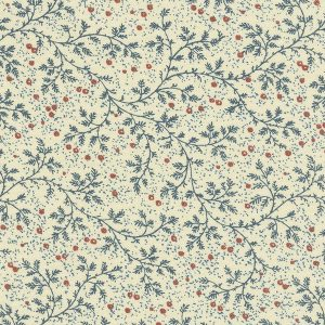 Windham Backing 50665-2 Berry Vine Navy