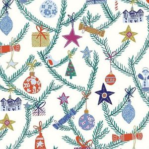 Liberty of London Season's Greeting 'Tree of Delight' quiltstof