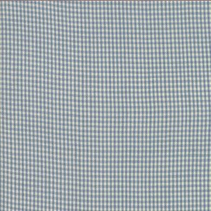 Northport Silky Check Med Blu 12215 16 by Minick & Simpson for Moda Wovens Quiltstof