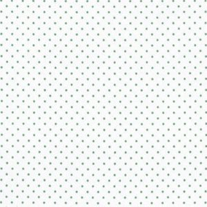 Moda Essential Dots 8654 53 60 White Green