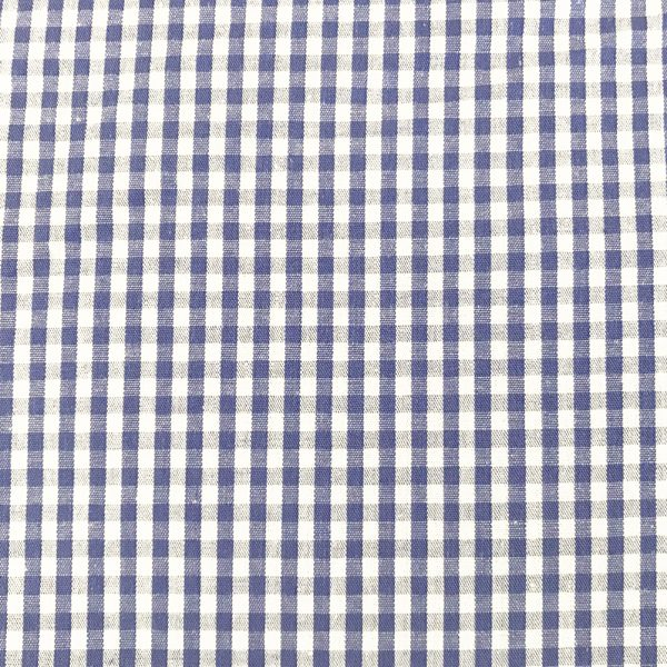 Gutermann Basic Cottons Blue white Gingham