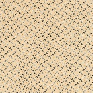 Blush and Blue by Kim Diehl for Henry Glass & Co 1958-7 Cream 4706 005