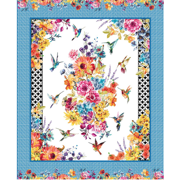 Hummingbird Lane In the Beginning Fabrics Panel 2020