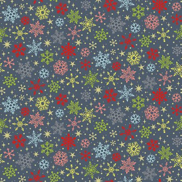 Joy 2231/S Snowflakes Blue Makower