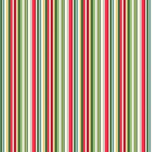 Yuletide 2203/G Straight Stripe Makower