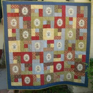 Gail Pan Summer's Bouquet plaatjes quilt