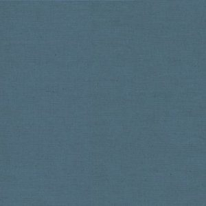 Makower Linen Cotton Solid Dye 1000 LCB5 Mid Blue